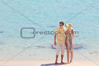 couple at vacation