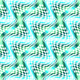 Design seamless colorful movement illusion pattern