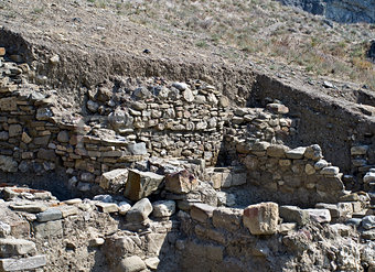 Archaeological excavations in the Crimea.