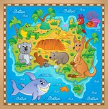 Australian map theme image 2