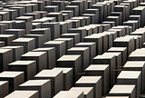 The Holocaost monument  (consist of 2711 concrete blocks)