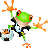 Goalkeeper frog
