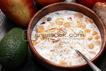 Bowl With Muesli