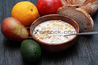 Bowl With Muesli