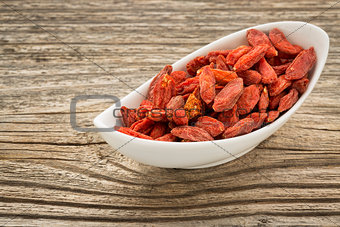 goji berries in a small bowl