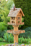 Homemade bird house