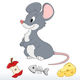 Cute Cartoon Mouse
