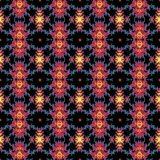 Seamless fractal pattern in a pink colors