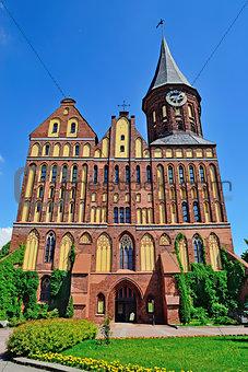 Cathedral of Koenigsberg, gothic 14th century