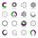 Design elements set. Abstract icons.