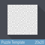 Puzzle Template 20x20