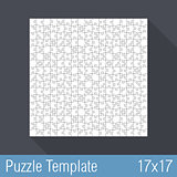 Puzzle Template 17x17
