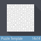 Puzzle Template 14x14