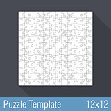 Puzzle Template 12x12