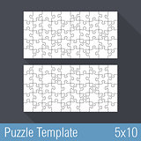 Puzzle Template 5x10
