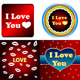 I love you set