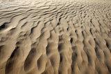 Sand in Sahara desert