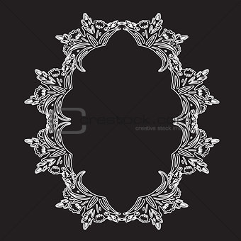 Antique vintage frame