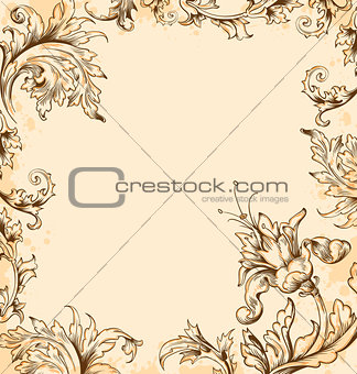 Victorian background