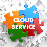 Cloud Service on Multicolor Puzzle.