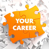 Your Career on Orange Puzzle.
