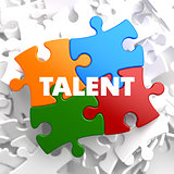 Talent on Multicolor Puzzle.