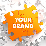 Your Brand on Orange Puzzle.