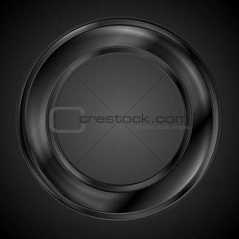 Abstract ring vector logo