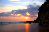 Sunrise at Macmasters Beach NSW Australia