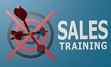 Dart board blue sales training