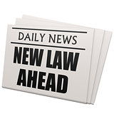 Newspaper new law ahead