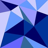 Triangle vector background or grey, blue, white and navy pattern.