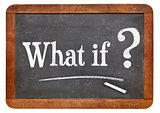 What if question on blackboard