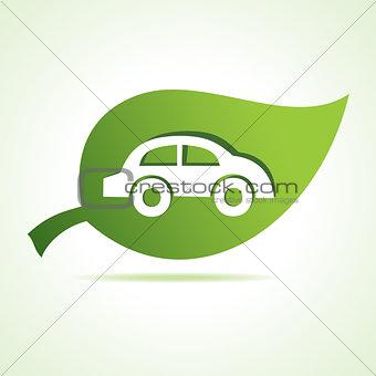 car icon at leaf