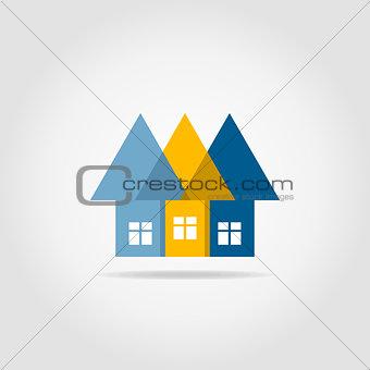 Arrows the house