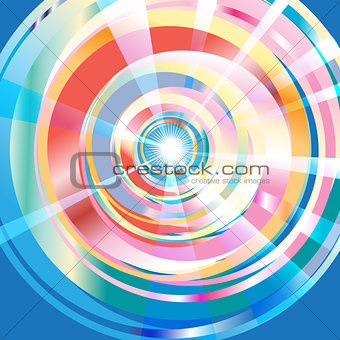 abstract multi-colored pattern