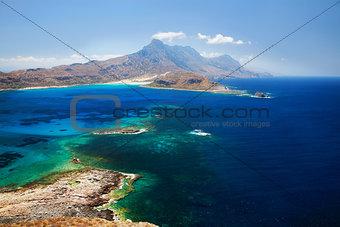 Lagoon Balos, Gramvousa, Crete, Greece
