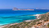 Gramvousa Island, Crete, Greece.