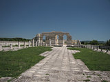 The Great Basilica in the ancient Bulgarian capital Pliska