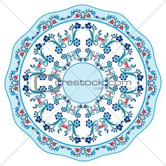 blue oriental ottoman design eighteen
