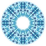 blue oriental ottoman design nineteen