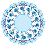 blue oriental ottoman design seventeen