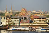 bangkok panorama with grand palace