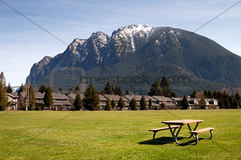 Greenbelt Picnic Table Subdivision Homes Mount Si North Bend
