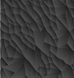 Abstract black polygonal simple
