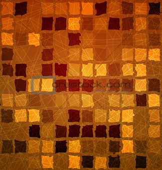 Brick tile orange with grunge