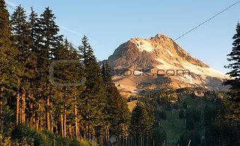Ski Chair Lift Timberline Mt Hood Cascade Mountain