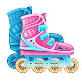 Roller skates for rolling sport