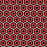 Design seamless hexagon geometric pattern