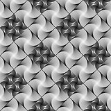 Design seamless monochrome decorative diamond pattern